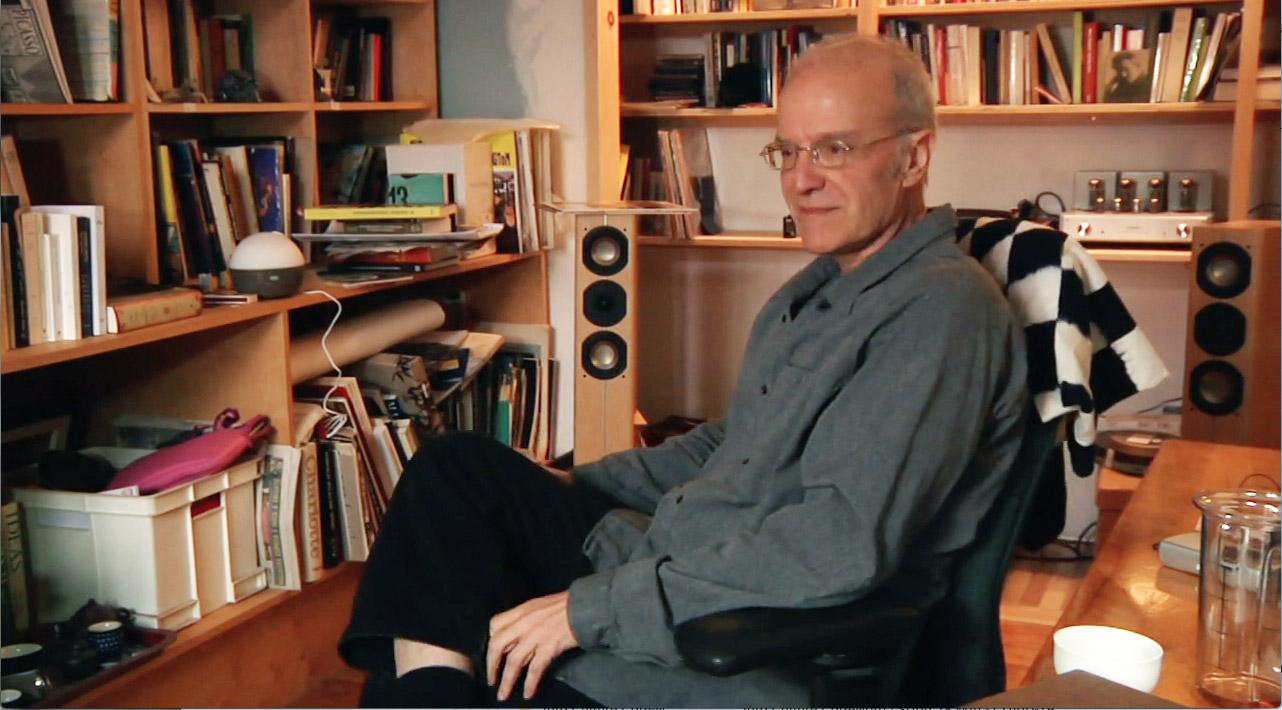 Carlos Ferrand dans L'inventaire des biens meubles Monsieur Lambert, un film de Lucie Lambert