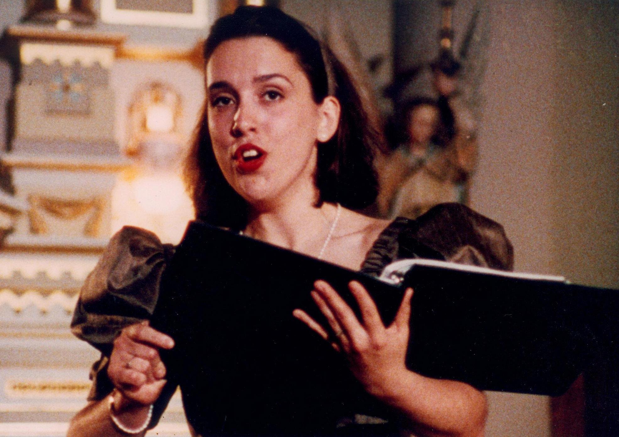 Guylaine Girard dans Paysage sous les paupières, un film de Lucie Lambert